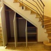 Am nagement sous escalier placard sous ecalier vannes - Porte de placard sous escalier ...