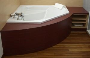 meuble de salle de bain, aménagement de salle de bain, vannes, auray