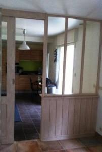 Aménagement verrière d'intérieur à Vannes